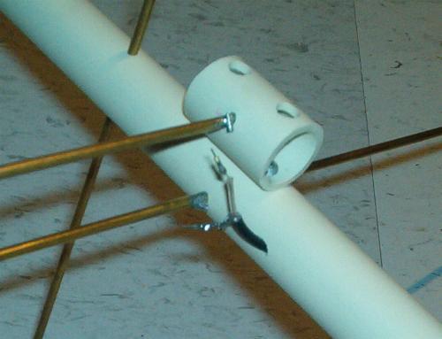 VE2ZAZ - Arrow-Style VHF/UHF Portable Satellite Antenna